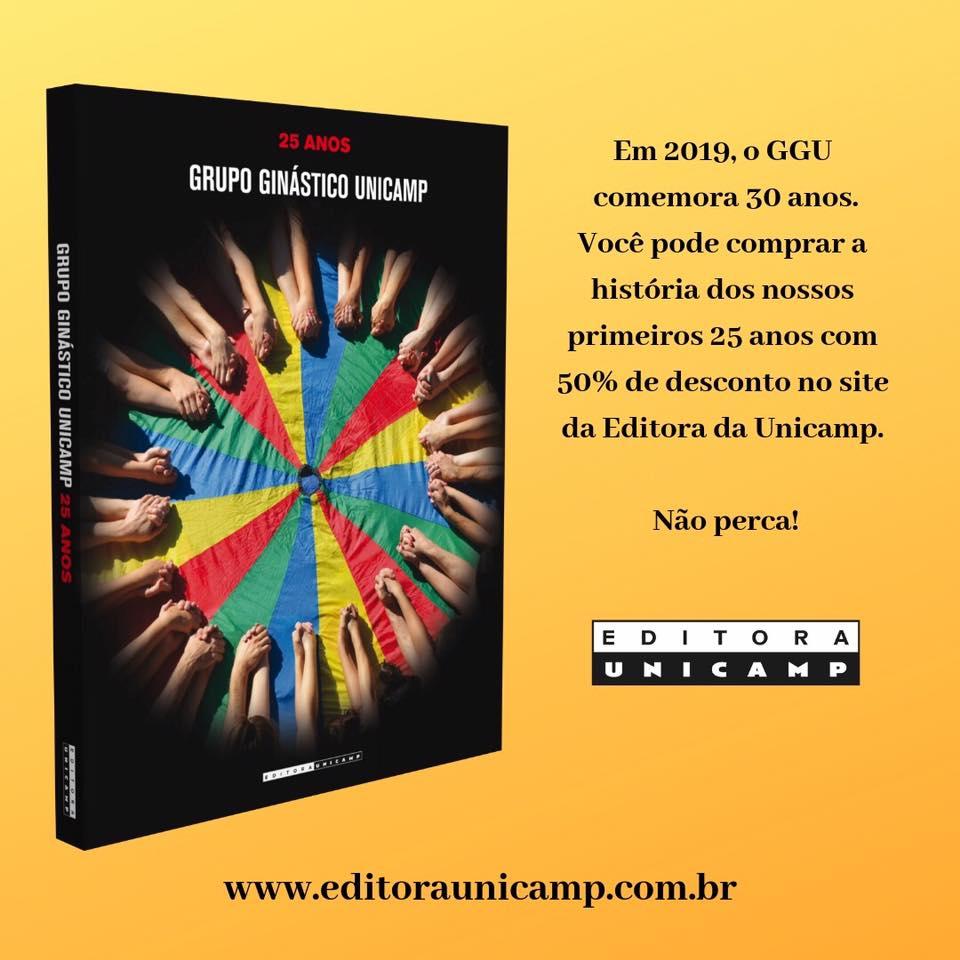 edcc52d06 Promoção para compra do livro GGU 25 anos (editora Unicamp).